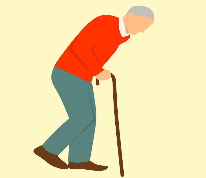 Personne agée ayant besoin d'un anti douleur naturel contre l'arthrose